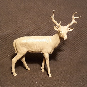 More Marx Mammals Featuring The Stag From the Robin Hood Set - Toys