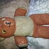 my antique teddy bear
