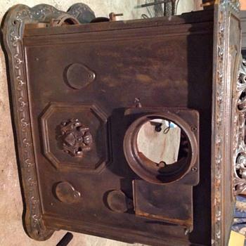 Cast Iron wood heater