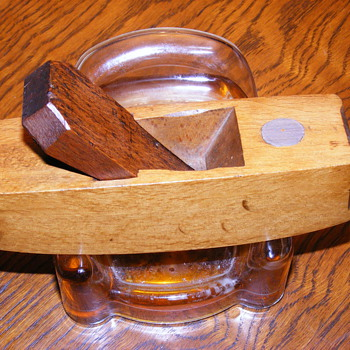 "R.G. Capon, Antique Wood MINI Plane 5"" long ..Work of art!! - Tools and Hardware"