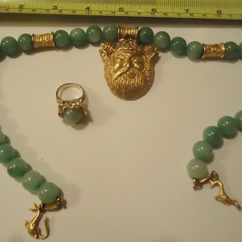 Repost (as asked!) Jade ring and necklace - Fine Jewelry