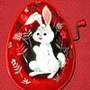 1950's Mattel Tin Litho Musical Easter Eggs