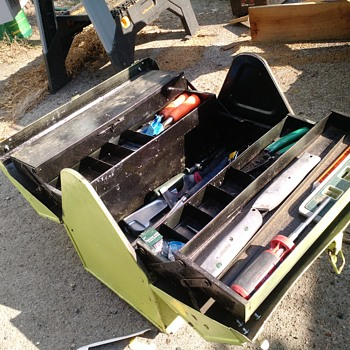 Some of my old tool boxes being painted - Tools and Hardware