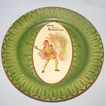 Royal Doulton Jack and the Beanstalk Plate D3606