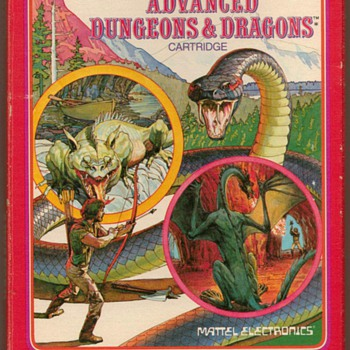 """Dungeons & Dragons"" Video Game Cartridge - Games"