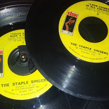 45 RPM SINGLE(S)....#101-#102 - Records