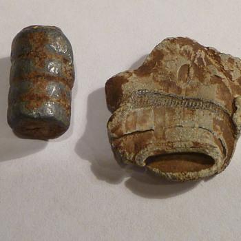 Old bullets found underground.