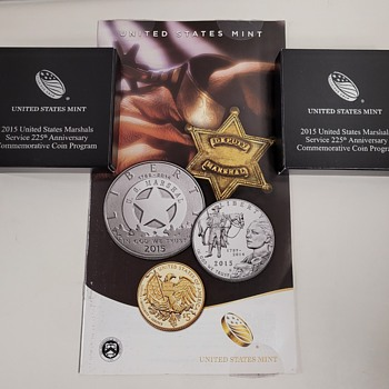 2015 United States Marshals 225th Anniversary Coin - US Coins