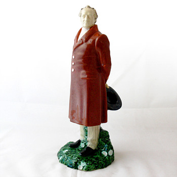 Goethe sculpture, Michael Powolny (Wiener Keramik, 1907) - Figurines