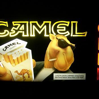 Joe Camel sign
