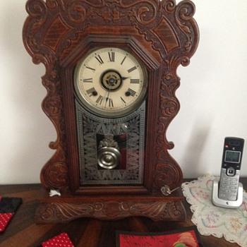 ansonia eight day mantle clock - Clocks