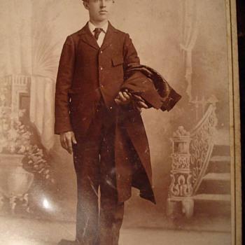 Men In Hat I: Men Wearing Bowlers - Photographs