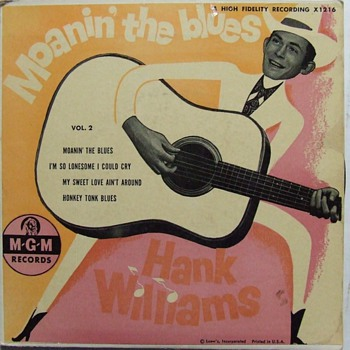 Hank Williams, Johnny & the Hurricanes ,The Fendermen 45's - Records