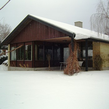 Historic photo: My house covered in snow. 10 years ago. - Photographs