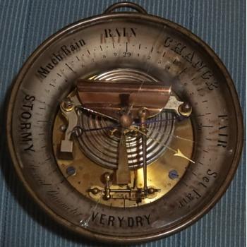 My Ships Barometer - Tools and Hardware