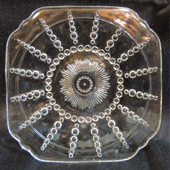 Clear Glass Plates - Glassware