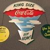1957 Coca-Cola Bottle Display