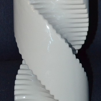 Raymor Spiral Twist Drill Shaped Vase - Mid-Century Modern