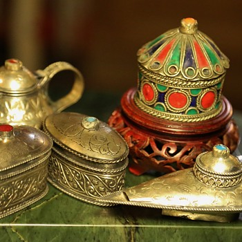 More little Pakistani / Indian Metalwork - Asian