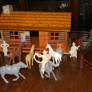 Marx Western Ranch Playset Part 3 - Toys