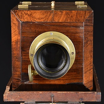 American-Style Chamfered Daguerreotype Camera. c.1850 - Cameras