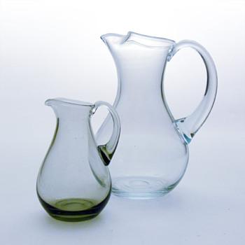 ISLAND jugs, Per Lütken (Holmegaard, 1967) - Art Glass