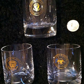 President and Vice President Whiskey Glasses - Glassware