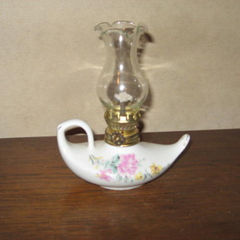 Small Alladin oil lamp from Japan - Lamps