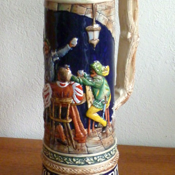 Huge German Beer Stein