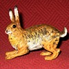 Vintage Cold Painted Austrian Bronze Hare