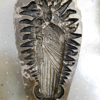 Is this a Springerle Mold?  Religious Madonna Holding Baby / Christ