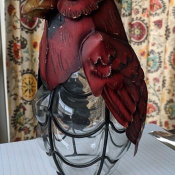 Kerosene lamp chimney. - Lamps