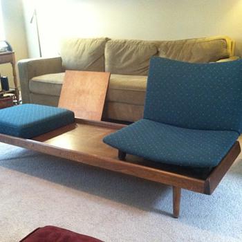 Mid Century Convertable Bench Table? - Mid-Century Modern