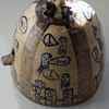 OUTSTANDING Hippie Folk Art pottery
