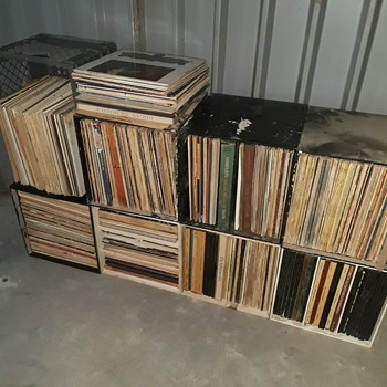 guess who got a few more LP's today...? - Records