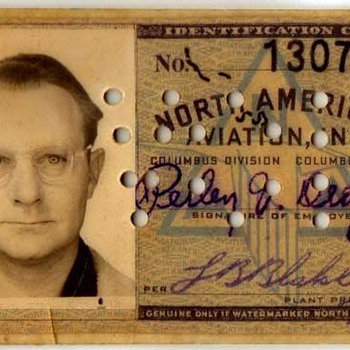 Dad's I.D. Card - Cards