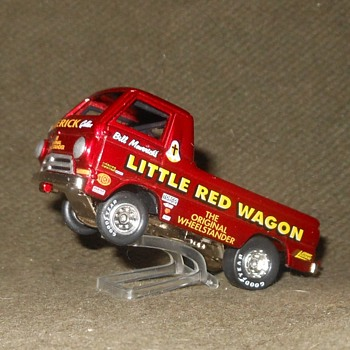 Johnny Lightning Dodge Little Red Wagon 1997 - Model Cars