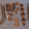 Group of curvy Renoir copper items