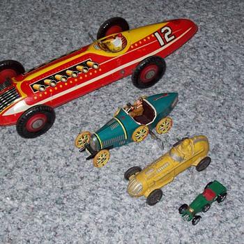 race cars - Model Cars