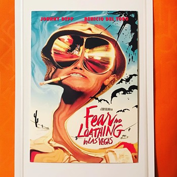 Fear and Loathing in Las Vegas Postcard Movie Ad - Postcards