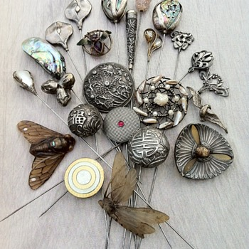 Hat pins collection part 2. - Fine Jewelry
