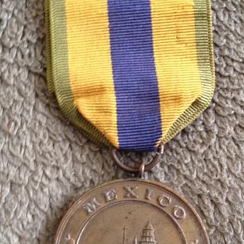 Rare Original USN Mexico Service Medal 1911-1917