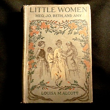 """ Little Women"" By Louisa May Alcott /Alfred Mudge & Sons Inc. Printers/ Copyright 1880-1896 - Books"