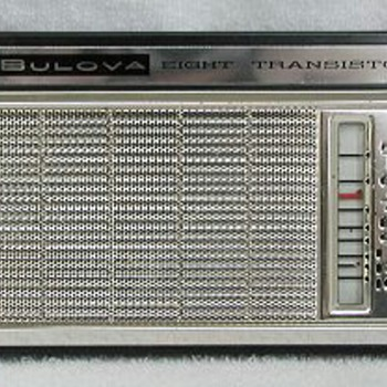Bulova Eight Transistor Radio