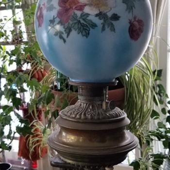 Standing piano oil lamp - Lamps