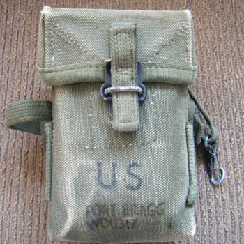 CASE SMALL ARMS AMMUNITION VIET. ERA FORT BRAGG WOU317 - Military and Wartime