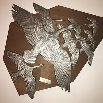 Gilroy Roberts ~~ Wild Geese - Fine Art