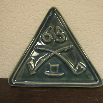 St. Pat's pipe-related Trivet? - Tobacciana