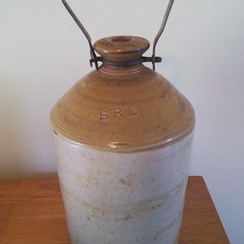 WW 1 British Rum Jug