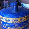 Blue Eagle Oil Can